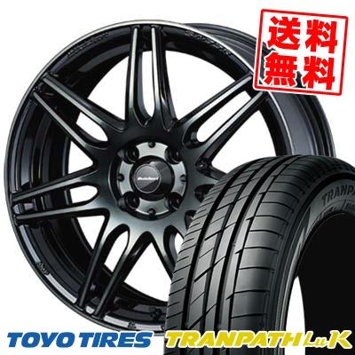165/50R16 75V TOYO TIRES トーヨー タイヤ TRANPATH LuK トランパス LuK wedsSport SA-77R ウェッズスポーツ SA-77R サマータイヤホイール4本セット