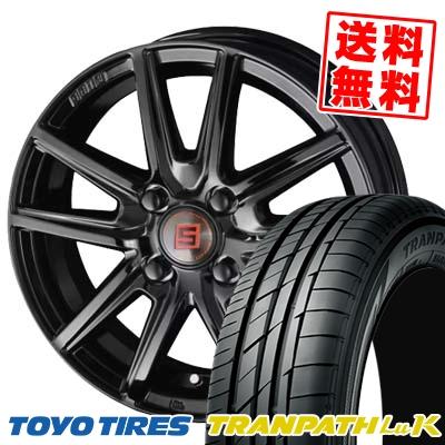 155/65R13 73S TOYO TIRES トーヨー タイヤ TRANPATH LuK トランパス LuK SEIN SS BLACK EDITION ザイン エスエス ブラックエディション サマータイヤホイール4本セット