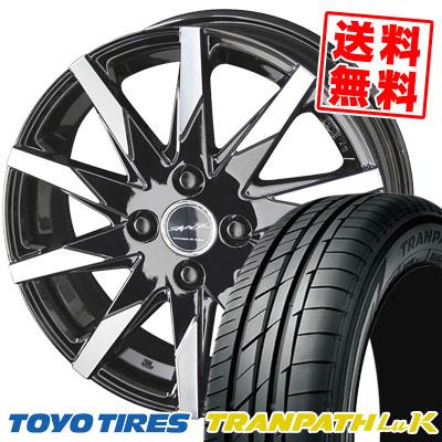 165/60R14 75H TOYO TIRES トーヨー タイヤ TRANPATH LuK トランパス LuK SMACK SFIDA スマック スフィーダ サマータイヤホイール4本セット