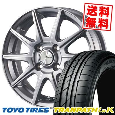 155/65R14 75H TOYO TIRES トーヨー タイヤ TRANPATH LuK トランパス LuK V-EMOTION SR10 Vエモーション SR10 サマータイヤホイール4本セット