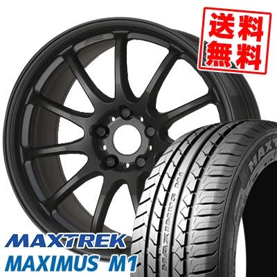 215/50R17 95V XL MAXTREK マックストレック MAXIMUS M1 マキシマス エムワン WORK EMOTION 11R ワーク エモーション 11R サマータイヤホイール4本セット