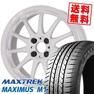 215/40R17 87W XL MAXTREK マックストレック MAXIMUS M1 マキシマス エムワン WORK EMOTION 11R ワーク エモーション 11R サマータイヤホイール4本セット