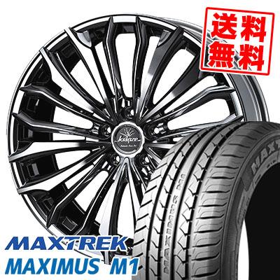 245/35R19 93W XL MAXTREK マックストレック MAXIMUS M1 マキシマス エムワン weds Kranze Felsen 358EVO ウェッズ クレンツェ フェルゼン 358EVO サマータイヤホイール4本セット