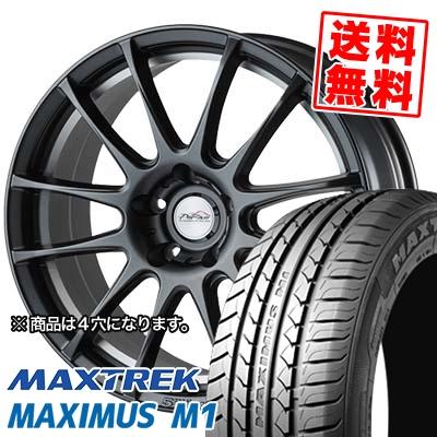 215/40R17 87W XL MAXTREK マックストレック MAXIMUS M1 マキシマス エムワン 5ZIGEN PRORACER Z1 5ジゲン プロレーサー Z1 サマータイヤホイール4本セット