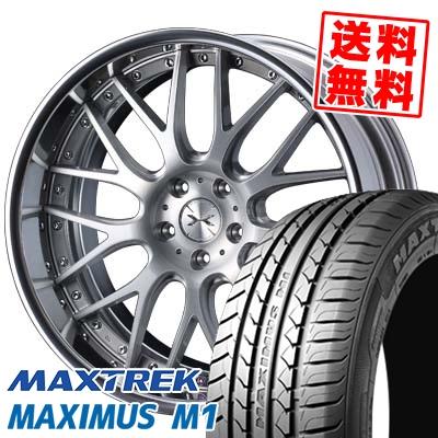 245/35R19 93W XL MAXTREK マックストレック MAXIMUS M1 マキシマス エムワン weds MAVERICK 709M ウエッズ マーベリック 709M サマータイヤホイール4本セット