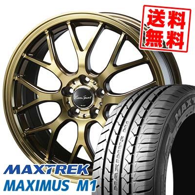 225/60R17 99V MAXTREK マックストレック MAXIMUS M1 マキシマス エムワン Eouro Sport Type 805 ユーロスポーツ タイプ805 サマータイヤホイール4本セット