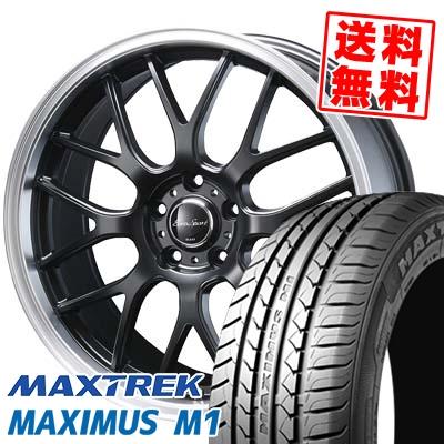 215/50R17 95V XL MAXTREK マックストレック MAXIMUS M1 マキシマス エムワン Eoro Sport Type 805 ユーロスポーツ タイプ805 サマータイヤホイール4本セット