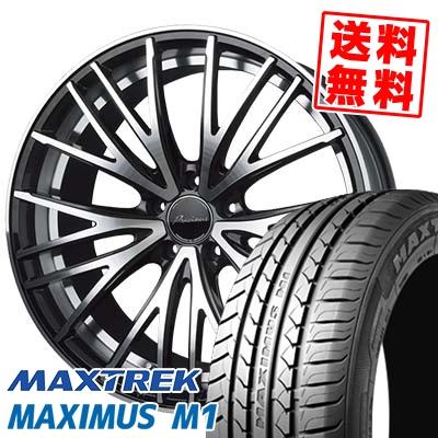 245/40R18 97W XL MAXTREK マックストレック MAXIMUS M1 マキシマス エムワン Precious AST M1 プレシャス アスト M1 サマータイヤホイール4本セット