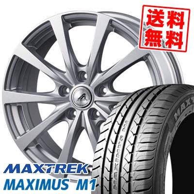 205/55R16 94V XL MAXTREK マックストレック MAXIMUS M1 マキシマス エムワン AZ SPORTS EX10 AZスポーツ EX10 サマータイヤホイール4本セット