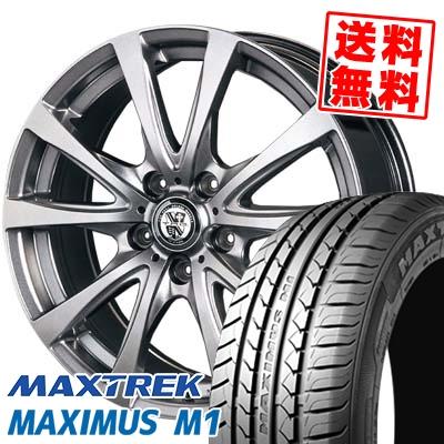 205/55R16 94V XL MAXTREK マックストレック MAXIMUS M1 マキシマス エムワン TRG-BAHN TRG バーン サマータイヤホイール4本セット