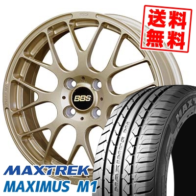 195/55R16 87V MAXTREK マックストレック MAXIMUS M1 マキシマス エムワン BBS RP BBS RP サマータイヤホイール4本セット