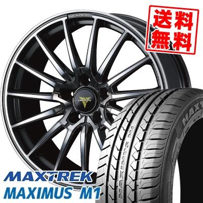 245/35R19 93W XL MAXTREK マックストレック MAXIMUS M1 マキシマス エムワン WEDS NOVARIS BEONDE FL ウェッズ ノヴァリス ビオンド FL サマータイヤホイール4本セット