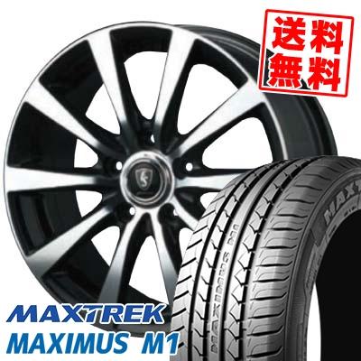 195/60R16 89H MAXTREK マックストレック MAXIMUS M1 マキシマス エムワン EuroSpeed BL10 ユーロスピード BL10 サマータイヤホイール4本セット