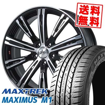 245/40R19 98W XL MAXTREK マックストレック MAXIMUS M1 マキシマス エムワン Bahnsport TYPE 525 バーンシュポルト タイプ525 サマータイヤホイール4本セット