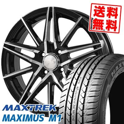 215/40R17 87W XL MAXTREK マックストレック MAXIMUS M1 マキシマス エムワン BLONKS TB01 ブロンクス TB01 サマータイヤホイール4本セット