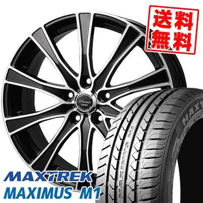 225/50R17 98W XL MAXTREK マックストレック MAXIMUS M1 マキシマス エムワン Warwic Carozza ワーウィック カロッツァ サマータイヤホイール4本セット