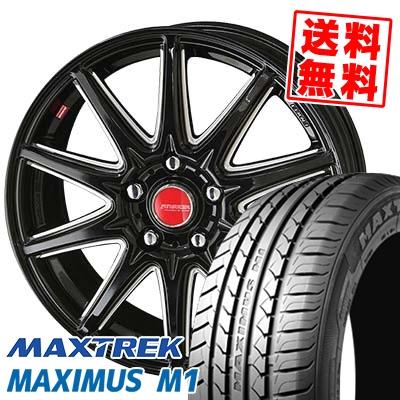 215/50R17 95V XL MAXTREK マックストレック MAXIMUS M1 マキシマス エムワン RIVAZZA CORSE リヴァッツァ コルセ サマータイヤホイール4本セット