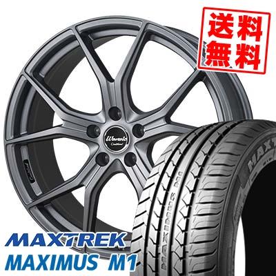 245/40R18 97W XL MAXTREK マックストレック MAXIMUS M1 マキシマス エムワン MONZA Warwic Coulthard モンツァ ワーウィック クルサード サマータイヤホイール4本セット