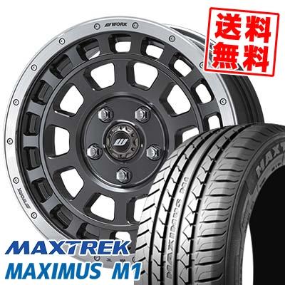 205/55R16 94V XL MAXTREK マックストレック MAXIMUS M1 マキシマス エムワン CRAG T-GRABIC クラッグ Tグラビック サマータイヤホイール4本セット【取付対象】