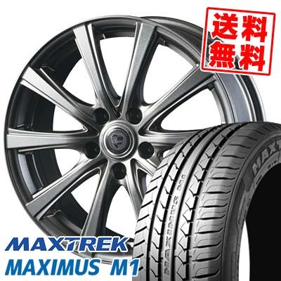235/40R18 95W XL MAXTREK マックストレック MAXIMUS M1 マキシマス エムワン CLAIRE DG10 クレール DG10 サマータイヤホイール4本セット