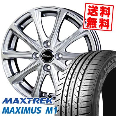 195/55R16 87V MAXTREK マックストレック MAXIMUS M1 マキシマス エムワン Exceeder E04 エクシーダー E04 サマータイヤホイール4本セット