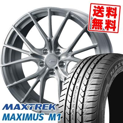 245/40R18 97W XL MAXTREK マックストレック MAXIMUS M1 マキシマス エムワン WEDS F ZERO FZ-1 ウェッズ エフゼロ FZ-1 サマータイヤホイール4本セット【取付対象】