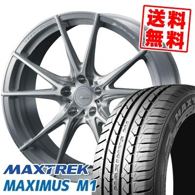 235/40R18 95W XL MAXTREK マックストレック MAXIMUS M1 マキシマス エムワン WEDS F ZERO FZ-2 ウェッズ エフゼロ FZ-2 サマータイヤホイール4本セット