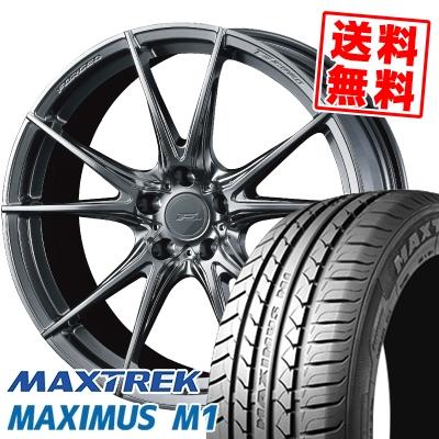 245/40R18 97W XL MAXTREK マックストレック MAXIMUS M1 マキシマス エムワン WEDS F ZERO FZ-2 ウェッズ エフゼロ FZ-2 サマータイヤホイール4本セット