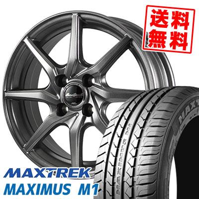 155/65R14 75T MAXTREK マックストレック MAXIMUS M1 マキシマス エムワン EuroSpeed G810 ユーロスピード G810 サマータイヤホイール4本セット