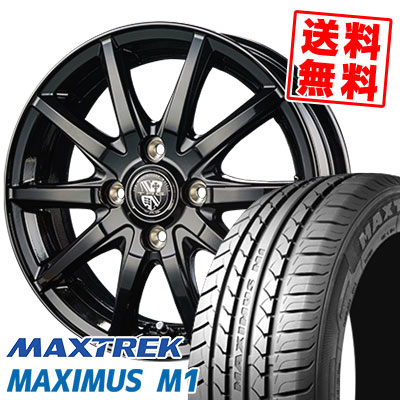 155/65R14 75T MAXTREK マックストレック MAXIMUS M1 マキシマス エムワン TRG-GB10 TRG GB10 サマータイヤホイール4本セット