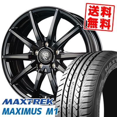 205/60R16 92H MAXTREK マックストレック MAXIMUS M1 マキシマス エムワン TRG-GB10 TRG GB10 サマータイヤホイール4本セット
