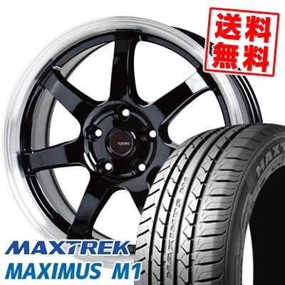 205/55R16 94V XL MAXTREK マックストレック MAXIMUS M1 マキシマス エムワン G.speed P-03 ジースピード P-03 サマータイヤホイール4本セット