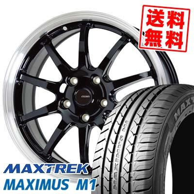 225/50R17 98W XL MAXTREK マックストレック MAXIMUS M1 マキシマス エムワン G.speed P-04 ジースピード P-04 サマータイヤホイール4本セット【取付対象】