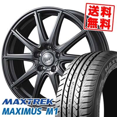 225/50R17 98W XL MAXTREK マックストレック MAXIMUS M1 マキシマス エムワン FINALSPEED GR-Γ ファイナルスピード GRガンマ サマータイヤホイール4本セット