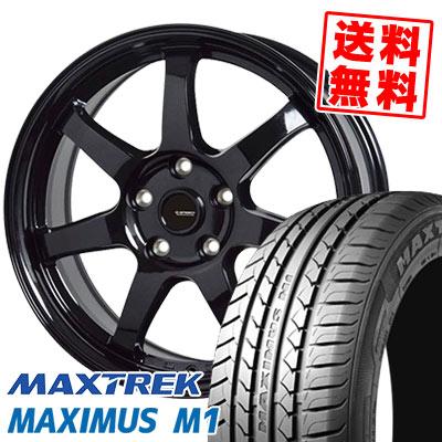 205/55R16 94V XL MAXTREK マックストレック MAXIMUS M1 マキシマス エムワン G.speed G-03 Gスピード G-03 サマータイヤホイール4本セット