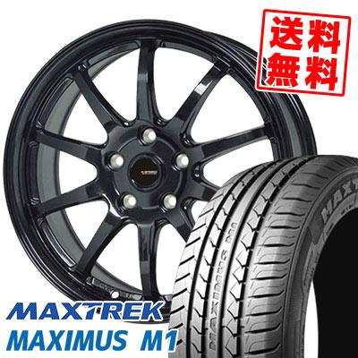 195/60R16 89H MAXTREK マックストレック MAXIMUS M1 マキシマス エムワン G.speed G-04 Gスピード G-04 サマータイヤホイール4本セット【取付対象】