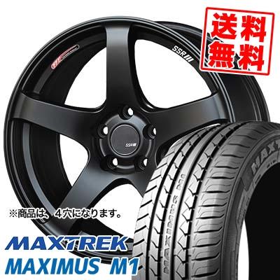 215/40R17 87W XL MAXTREK マックストレック MAXIMUS M1 マキシマス エムワン SSR GTV01 SSR GTV01 サマータイヤホイール4本セット