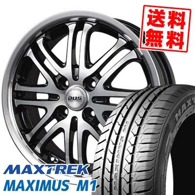 215/40R17 87W XL MAXTREK マックストレック MAXIMUS M1 マキシマス エムワン BADX D.O.S. DEEP HARDES バドックス D.O.S ディープハーデス サマータイヤホイール4本セット