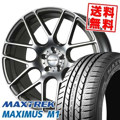 245/40R19 98W XL MAXTREK マックストレック MAXIMUS M1 マキシマス エムワン HYPERION CVM ハイペリオン CVM サマータイヤホイール4本セット