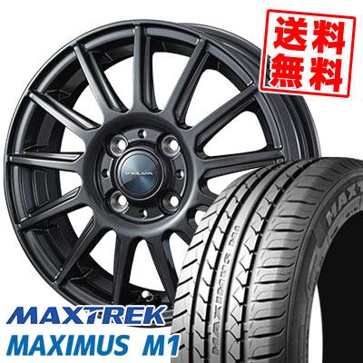 215/40R17 87W XL MAXTREK マックストレック MAXIMUS M1 マキシマス エムワン VELVA IGOR ヴェルヴァ イゴール サマータイヤホイール4本セット