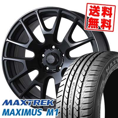 235/40R18 95W XL MAXTREK マックストレック MAXIMUS M1 マキシマス エムワン IGNITE XTRACK イグナイト エクストラック サマータイヤホイール4本セット