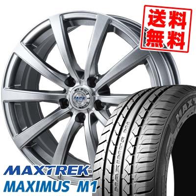 195/60R16 89H MAXTREK マックストレック MAXIMUS M1 マキシマス エムワン ZACK JP-110 ザック JP110 サマータイヤホイール4本セット