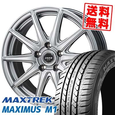 195/60R16 89H MAXTREK マックストレック MAXIMUS M1 マキシマス エムワン ZACK JP-710 ザック ジェイピー710 サマータイヤホイール4本セット