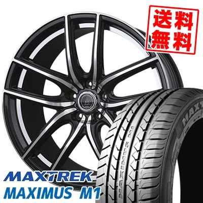 225/60R17 99V MAXTREK マックストレック MAXIMUS M1 マキシマス エムワン LOXARNY KERAS バドックス ロクサーニ ケラス サマータイヤホイール4本セット