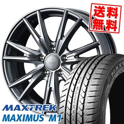245/40R18 97W XL MAXTREK マックストレック MAXIMUS M1 マキシマス エムワン VELVA KEVIN ヴェルヴァ ケヴィン サマータイヤホイール4本セット【取付対象】