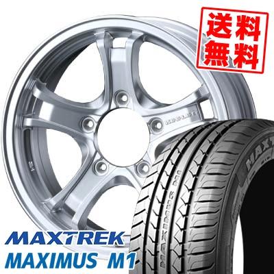 195/60R16 89H MAXTREK マックストレック MAXIMUS M1 マキシマス エムワン KEELER FORCE キーラーフォース サマータイヤホイール4本セット【取付対象】