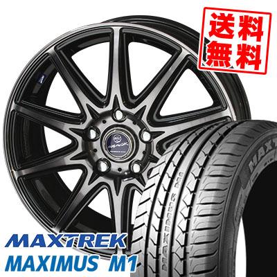 245/40R18 97W XL MAXTREK マックストレック MAXIMUS M1 マキシマス エムワン SMACK LAVINE スマック ラヴィーネ サマータイヤホイール4本セット【取付対象】