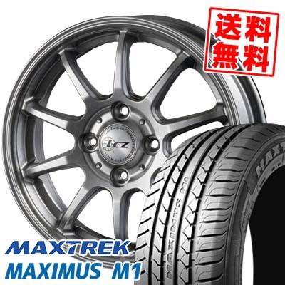 155/55R14 69V MAXTREK マックストレック MAXIMUS M1 マキシマス エムワン LCZ010 LCZ010 サマータイヤホイール4本セット