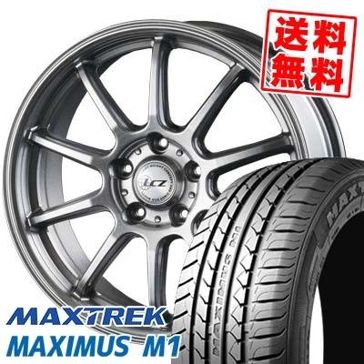 225/55R17 101V XL MAXTREK マックストレック MAXIMUS M1 マキシマス エムワン LCZ010 LCZ010 サマータイヤホイール4本セット