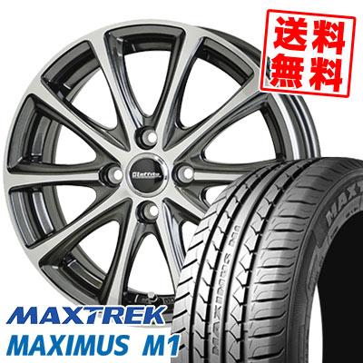 195/55R16 87V MAXTREK マックストレック MAXIMUS M1 マキシマス エムワン Laffite LE-04 ラフィット LE-04 サマータイヤホイール4本セット